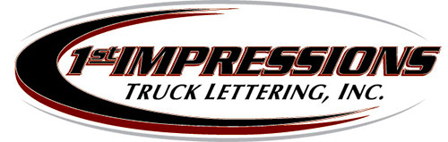 1st Impressions Truck Lettering, Phoenix, AZ