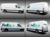 Fed-Ex Vehicle Lettering