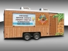 Surf and Turf Taco Shack Trailer Wrap