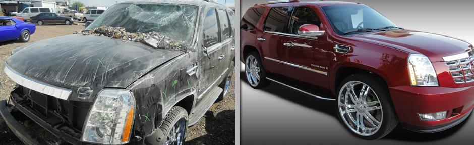 Cadillac Escalade Collision Repair