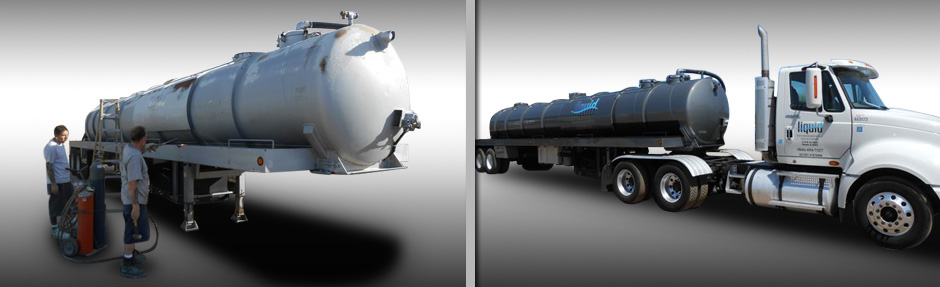 Liquid Tanker Detailed and Painted
